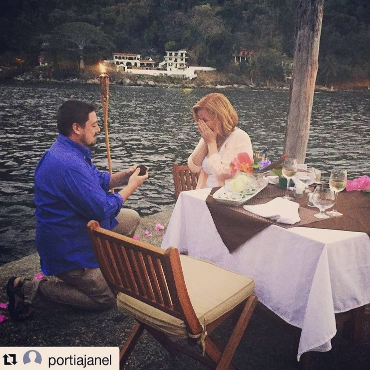 Villa Lala Wedding Proposal